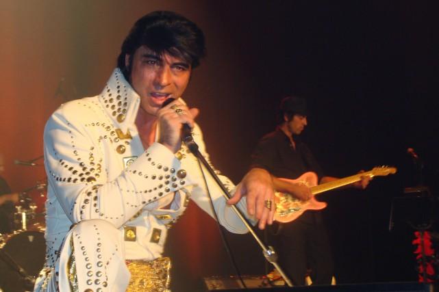 Jack Millette est Elvis.... (Photo fournie)