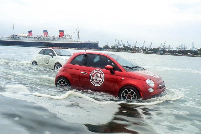 À l'occasion d'un festival de surf en Californie, Fiat va ressortir ses... (Photo fournie par Fiat Chrysler Automobiles)