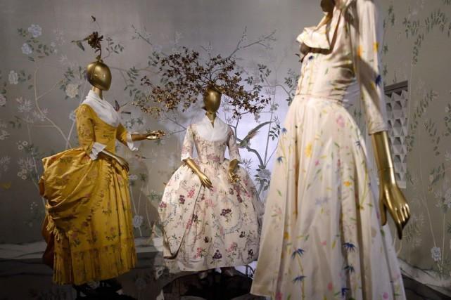 Les expositions liées à la mode marchent aussi... (PHOTO DON EMMERT, AFP)