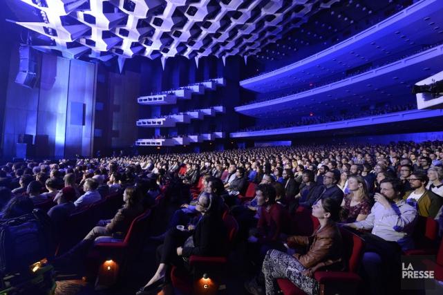 Les salles de spectacle québécoises ont attiré 6,8... (PHOTO BERNARD BRAULT, ARCHIVES LA PRESSE)