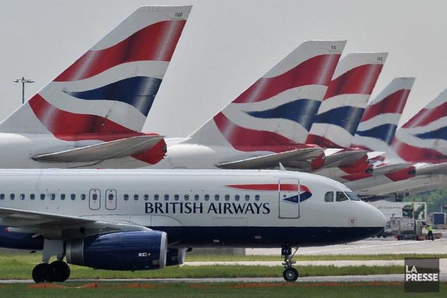 Des avions de British Airways.... (PHOTO CARL DE SOUZA, archives AFP)