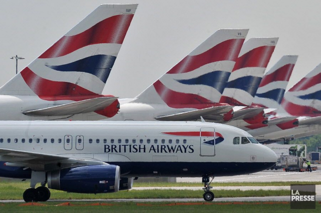 British Airways assurait collaborer de près avec les... (PHOTO CARL DE SOUZA, archives AFP)