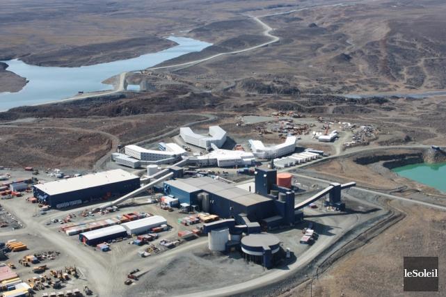 Situées à 60 km à l'ouest de Kangiqsujuaq... (Photothèque Le Soleil)