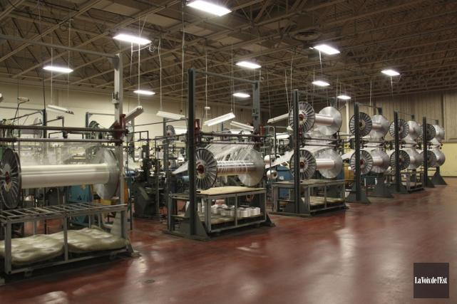 Belt-Tech fabrique plus de 60 millions de mètres... (photo archives La Voix de l'Est)