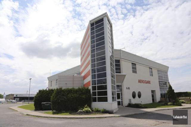 Si l'aéroport de Bromont est désigné par l'ACSTA... (photo archives La Voix de l'Est)