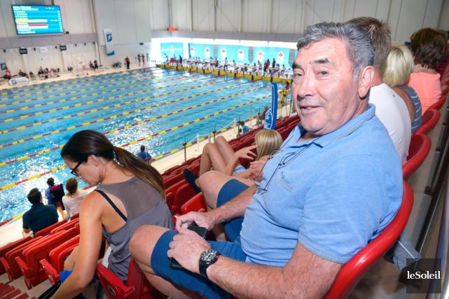 Eddy Merckx est venu à Québec pour assister... (Le Soleil, Jean-Marie Villeneuve)