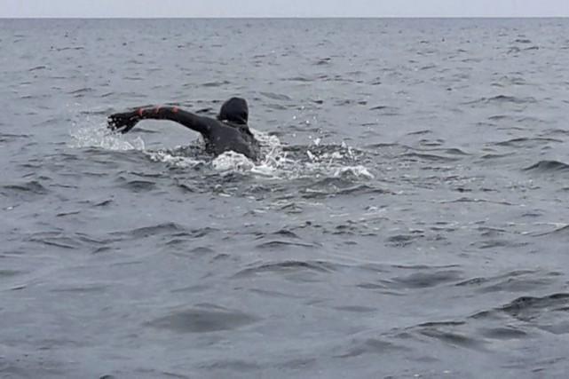 Vincent Godin pourrait atteindreles Îles-de-la-Madeleineen fin d'avant-midi vendredi.... (Courtoisie)