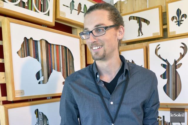Stephen Washer, de l'entreprise Derrière les Bois, figure... (Le Soleil, Jean-Marie Villeneuve)