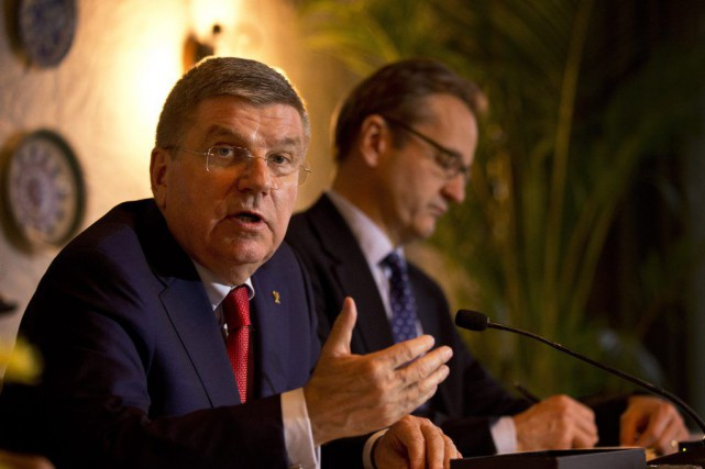Thomas Bach.... (PHOTO SAURABH DAS, ASSOCIATED)