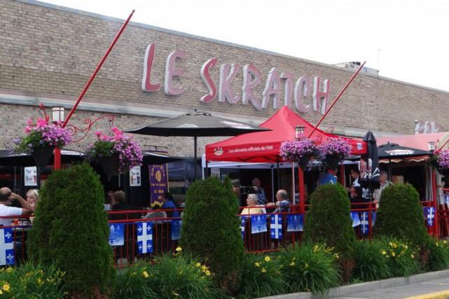 Le bar Le Skratch situé sur la rue... (PHOTO TIRÉE DE FACEBOOK)
