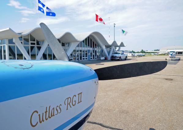 L'aéroport de Trois-Rivières peut maintenant obtenir les services... (Photo: Andréanne Lemire)