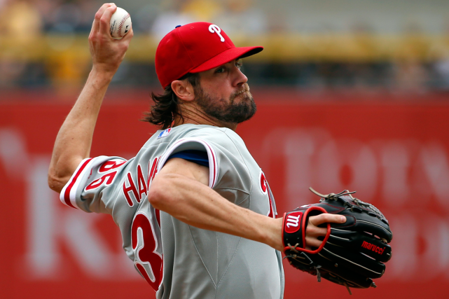 Cole Hamels... (Photo Gene J. Puskar, archives AP)