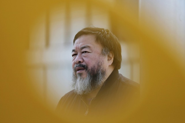 Ai Weiwei, qui a récupéré il y a... (PHOTO ANDY WONG, ARCHIVES AP)