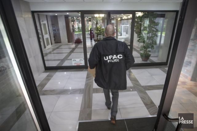 L'UPAC confirme qu'une opération est en cours à... (PHOTO IVANOH DEMERS, LA PRESSE)