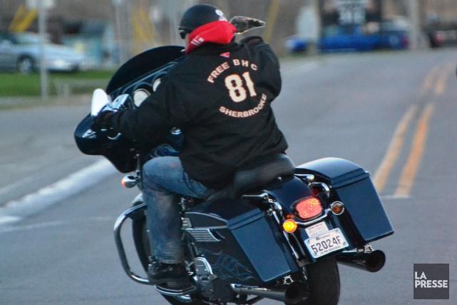 Des sympathisants du club de motards Hells Angels se réuniront en fin de... (Archives La Presse)