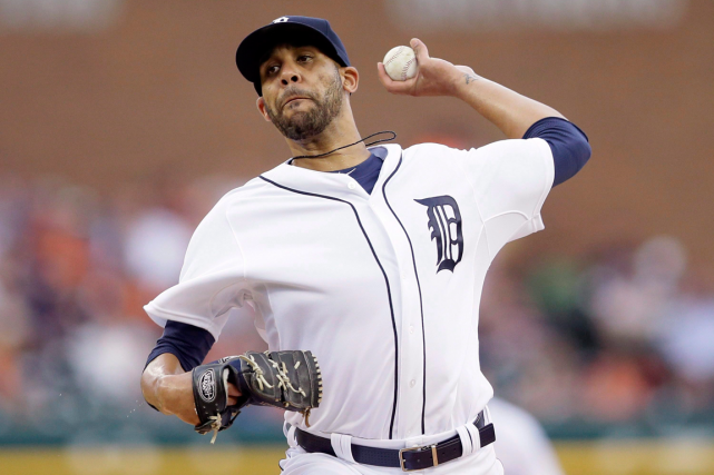 David Price montre une fiche de 9-4 et une... (Photo Carlos Osorio, AP)
