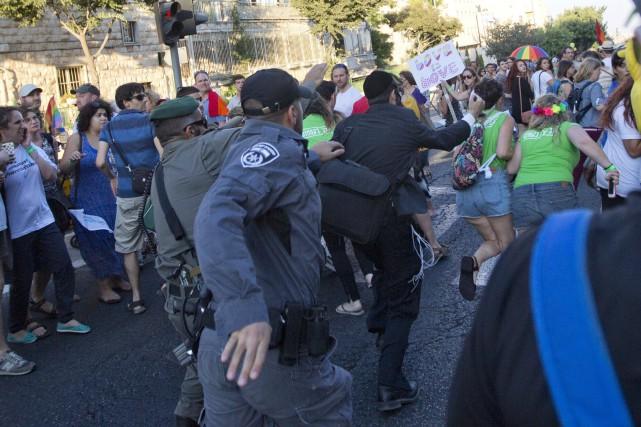L'assaillant, Yishaï Shlissel, un juif ultra-orthodoxe, a été... (Photo Sebastian Scheiner, AP)