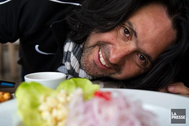 Le producteur et réalisateur Orlando Arriagada.... (PHOTO FRANÇOIS LÉGER-SAVARD)