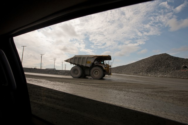 «L'État aide l'exploration par des mesures générales comme... (Photo Ivanoh Demers archives La Presse)