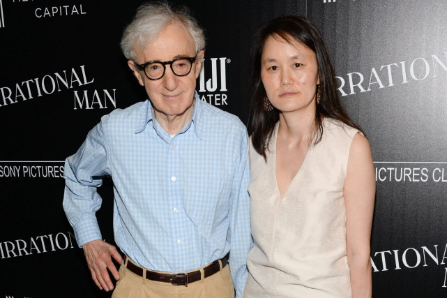Woody Allen et Soon-Yi... (PHOTO ARCHIVES AP/INVISION)