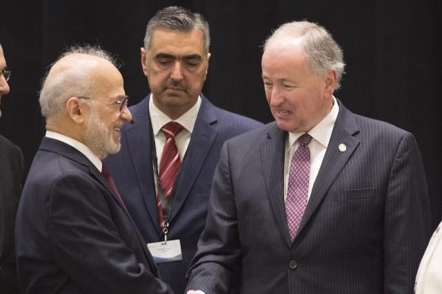 Le ministre des Affaires étrangères du Canada, Rob... (Photo Jacques Boissinot, La Presse Canadienne)