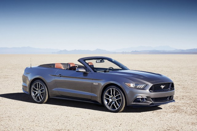 La Ford Mustang GT décapotable 2015... (PHOTO FOURNIE PAR FORD)