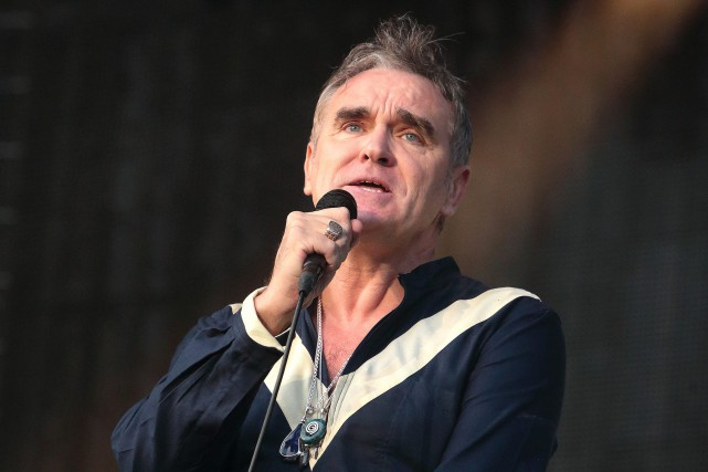 Le chanteur britannique Morrissey... (Photo Owen Sweeney, AP/INVISION)