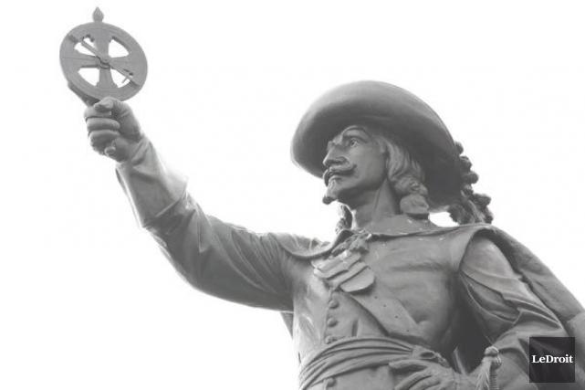 Samuel de Champlain... (Patrick Woodbury, LeDroit)