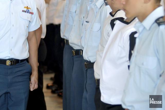 La Pressea révélé en 2012 que deux cadets... (Photo archives La Presse)