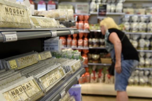 Les ventes flambent en été, particulièrement les week-ends... (PHOTO PHILIPPE DESMAZES, AFP)
