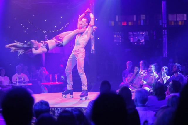 L'idée du spectacle s'inspire de la formule circassienne:... (Simon Séguin-Bertrand, LeDroit)