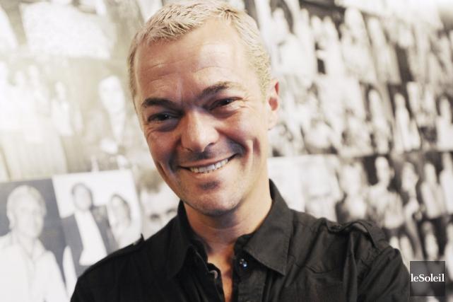 André Verreault, directeur d'Action promotion Grande Allée, à... (Photothèque Le Soleil, Erick Labbé)