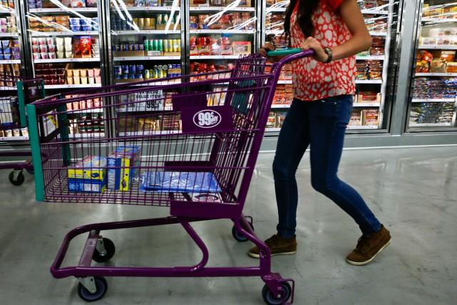 Le moral des ménages aux États-Unis a augmenté bien plus fortement qu'attendu... (PHOTO PATRICK T. FALLON, ARCHIVES REUTERS)