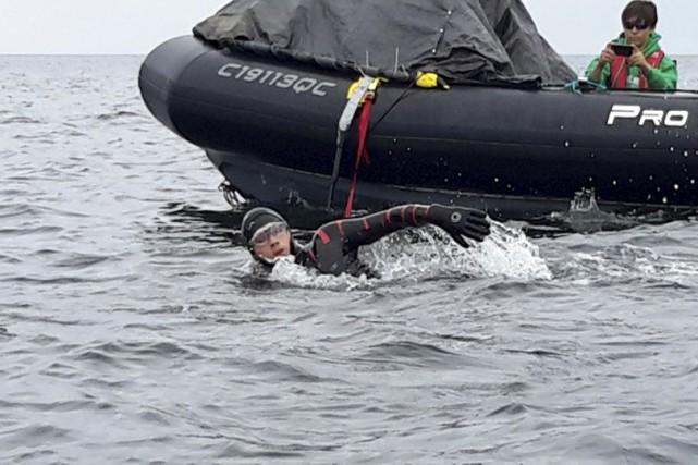 Le nageur Vincent Godin a terminé, vendredi avant-midi,... (Facebook)