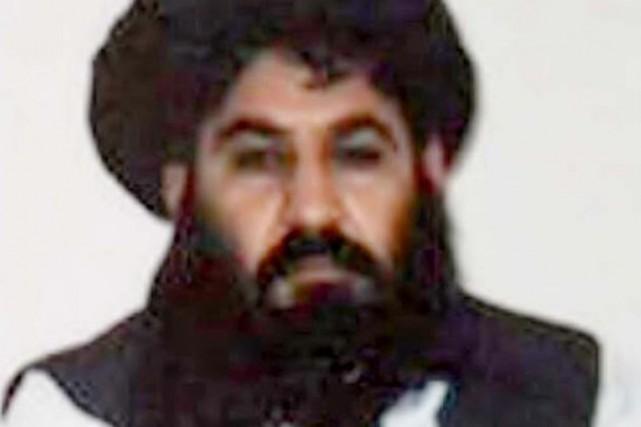 Le mollah Akhtar Mansour (ci-dessus) a succédé au... (PHOTO ARCHIVES REUTERS)