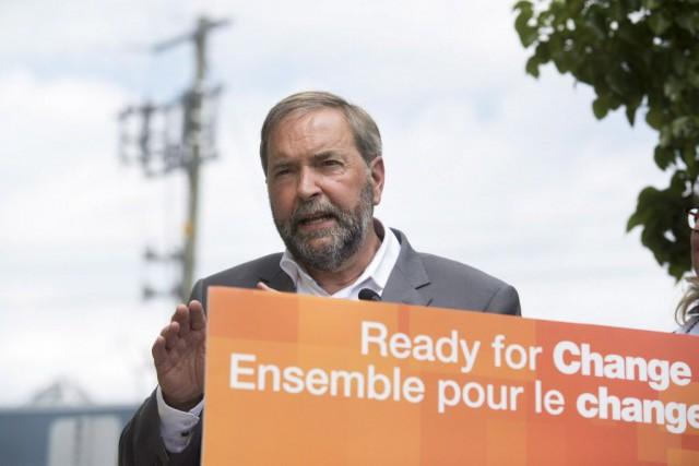 Le Nouveau parti démocratique (NPD), qui a récolté... (Photo Hannah Yoon, La Presse canadienne)