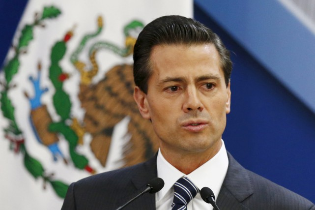 Le président mexicain Enrique Peña Nieto.... (PHOTO HENRY ROMERO, ARCHIVES REUTERS)