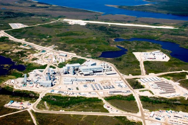 La mine Éléonore aura nécessité des investissements de... (Photo fournie par Goldcorp)