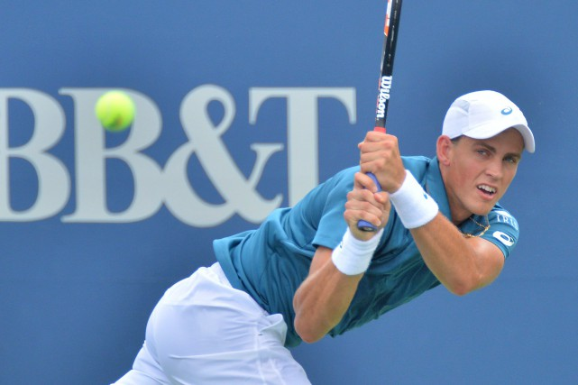 Vasek Pospisil... (PHOTO AP)