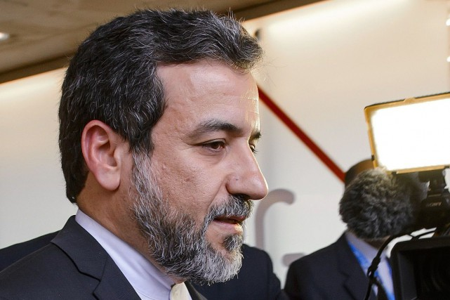 Le vice-ministre iranien des Affaires étrangères, Abbas Araghchi... (PHOTO ARCHIVES AFP)