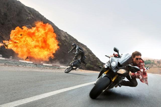 Dans Mission : Impossible - La nation Rogue,... (PHOTO FOURNIE PAR PARAMOUNT PICTURES)