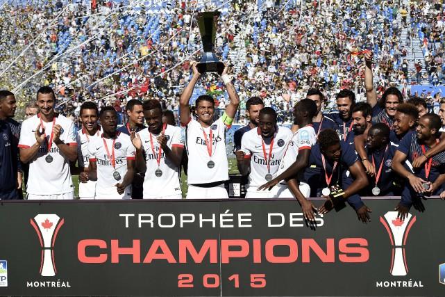 Le PSG, qui amorcera la semaine prochaine sa... (PHOTO FRANCK FIFE, AFP)