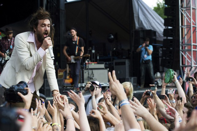 Alex Ebert, du groupe Edward Sharpe and the... (Photo Charles Sykes, archives AP)
