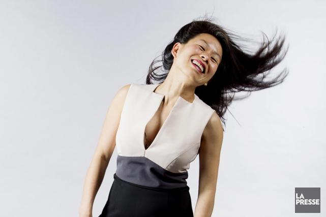 L'écrivaine Kim Thuy... (Photo Alain Roberge, La Presse)
