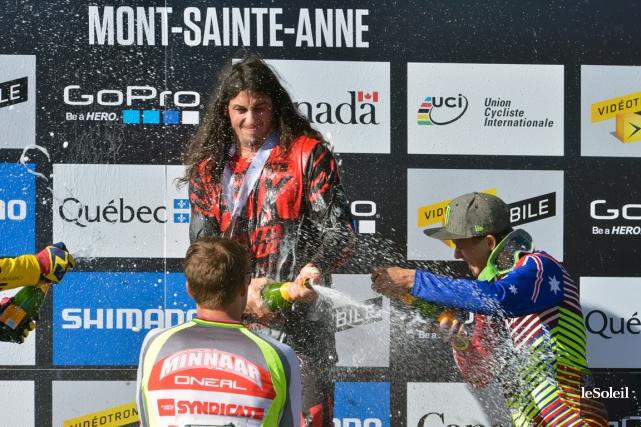 «Je ne pensais pas avoir une descente gagnante,... (Le Soleil, Jean-Marie Villeneuve)