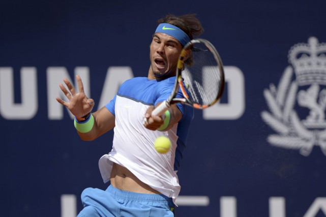 Rafael Nadal... (PHOTO DANIEL REINHARDT, AFP)