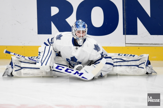 Jonathan Bernier... (PHOTO BERNARD BRAULT, ARCHIVES LA PRESSE)