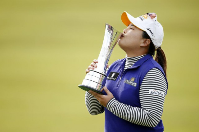 Park, 27 ans et déjà victorieuse de six... (PHOTO RUSSELL CHEYNE, REUTERS)