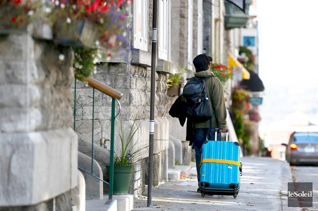 L'Association des hôteliers a demandé aux sites de... (Photothèque Le Soleil, Yan Doublet)