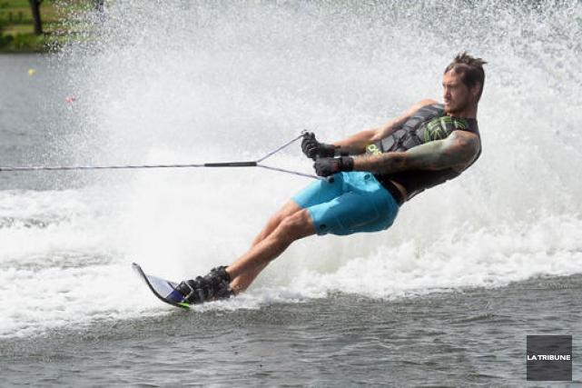 Jason McClintock était sur le lac des Nations... (Imacom, Maxime Picard)